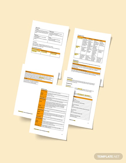 Example Small Construction Business Plan