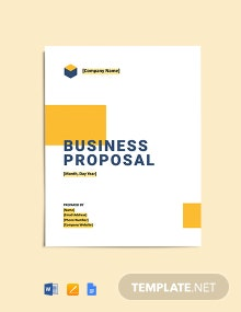 Small Construction Business Plan Template