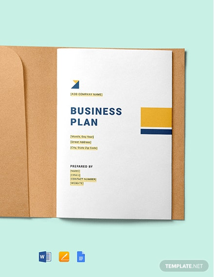 Commercial Construction Business Plan Template