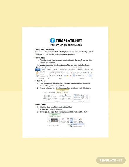 Construction Contractor Business Plan Template format
