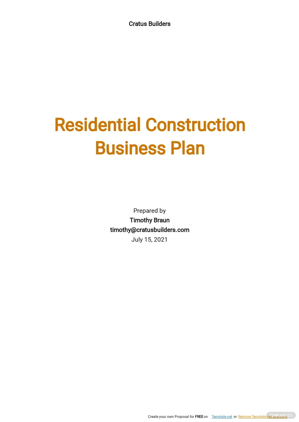 Residential Construction Business Plan Template.jpe