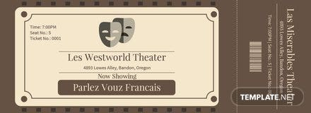 free vintage admission ticket template in adobe photoshop microsoft