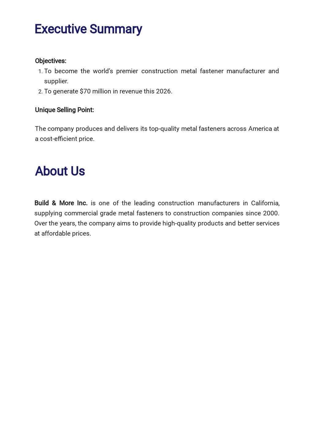 Construction Manufacturer Business Plan Template 1.jpe
