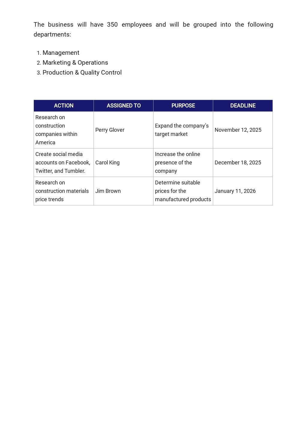 Construction Manufacturer Business Plan Template 5.jpe