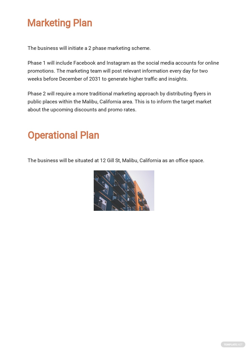 Construction Repair Business Plan Template [Free PDF] - Google Docs, Word, Apple Pages
