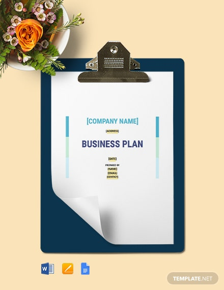 Construction Management Business Plan Template