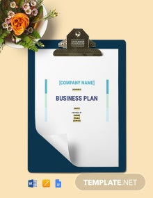 Construction Management Business Plan Template