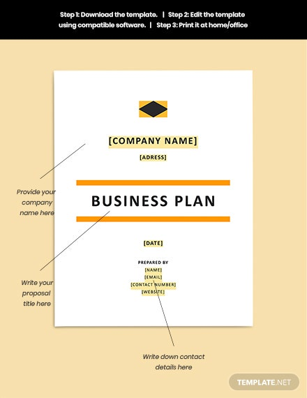 Construction Startup Business Plan Guide