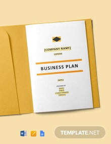 Construction Start-up Business Plan Template