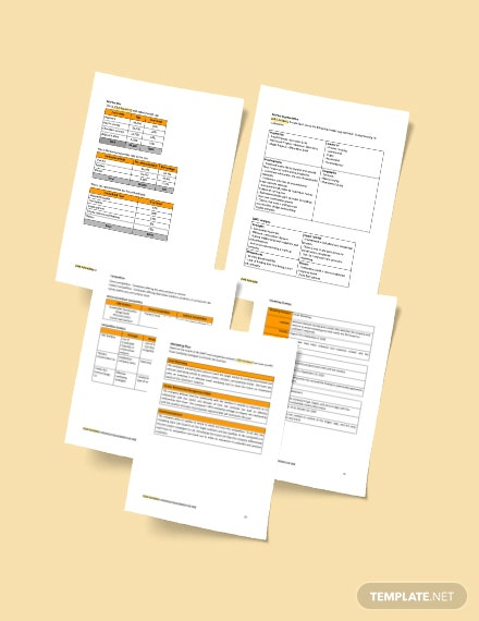 Printable Construction Startup Business Plan