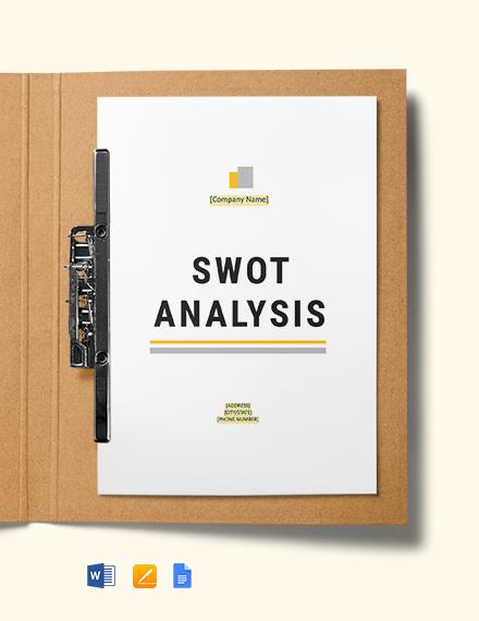 Mining  Construction Company SWOT Analysis