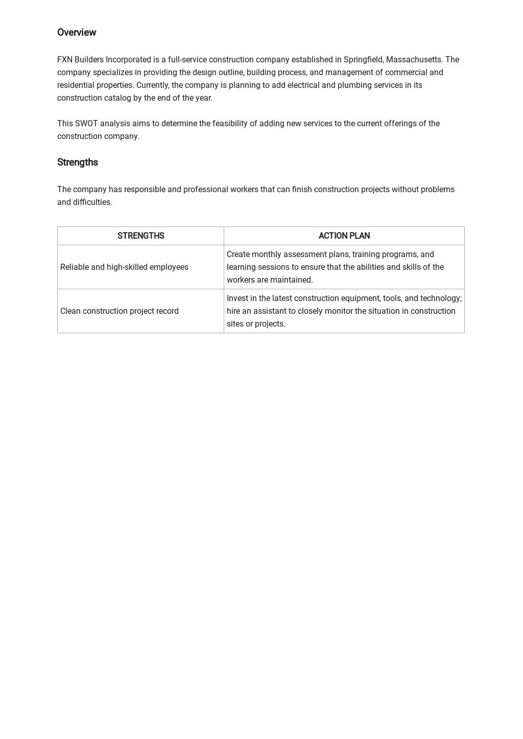 Construction SWOT Analysis Template 1.jpe