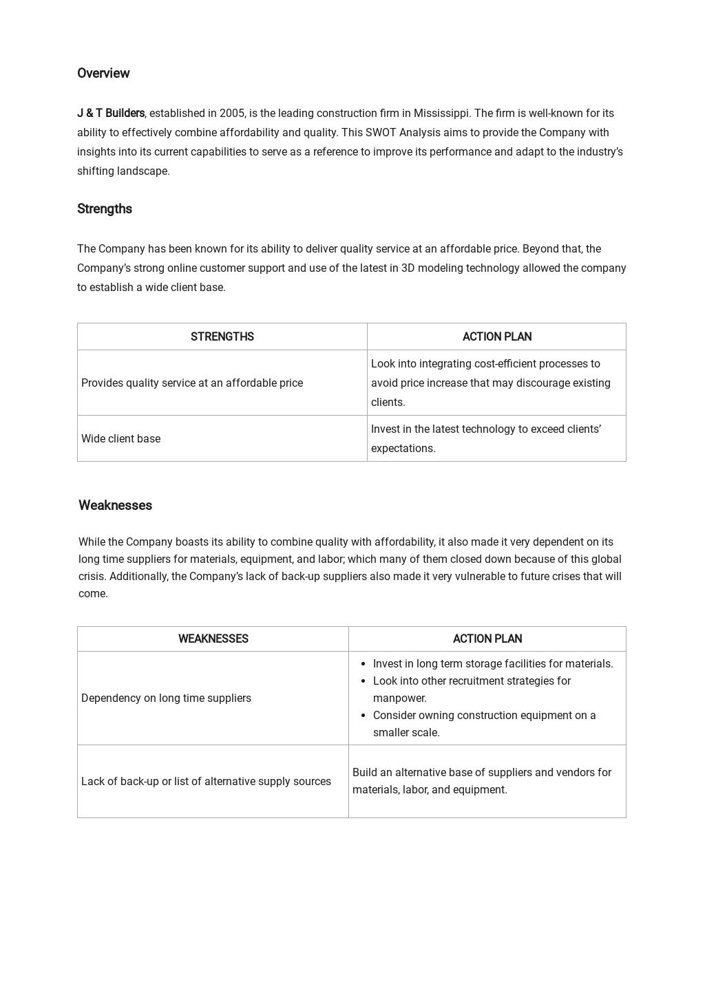 Construction Management SWOT Analysis Template 1.jpe