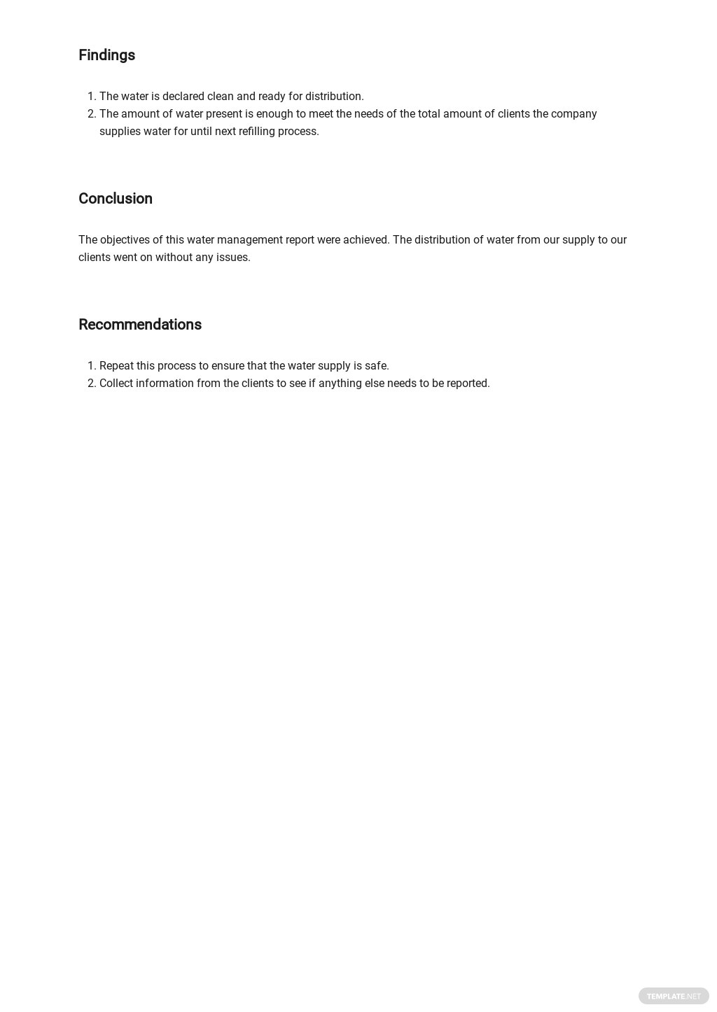 Free Water Management Report Template 3.jpe