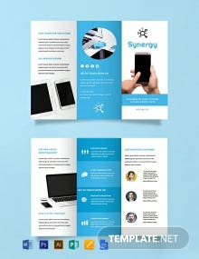 Free Product Brochure template