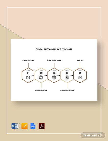 Digital Photography Flowchart Template