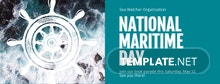 Free National Maritime Day Facebook Event Cover