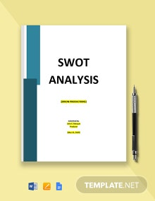 Video Production Company SWOT Analysis Template