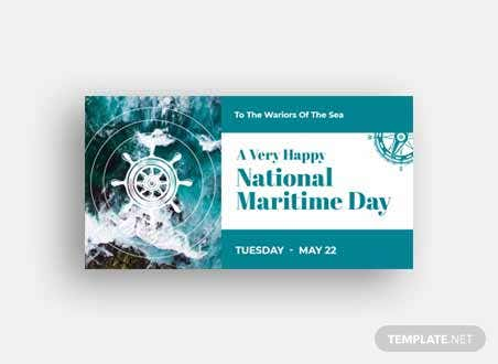 National Maritime Day Facebook Post
