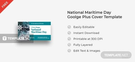 National Maritime Day Google Plus Cover
