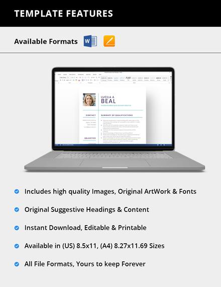 Sample Integrated Media Sales Account Executive Resume