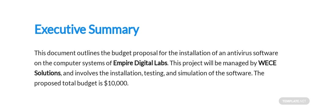 Software Budget Proposal Template [Free PDF] - Google Docs, Word, Apple Pages