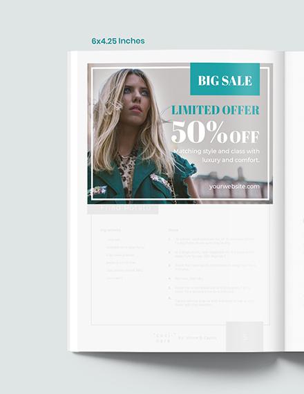 Fashion Photographer Magazine Ads Template