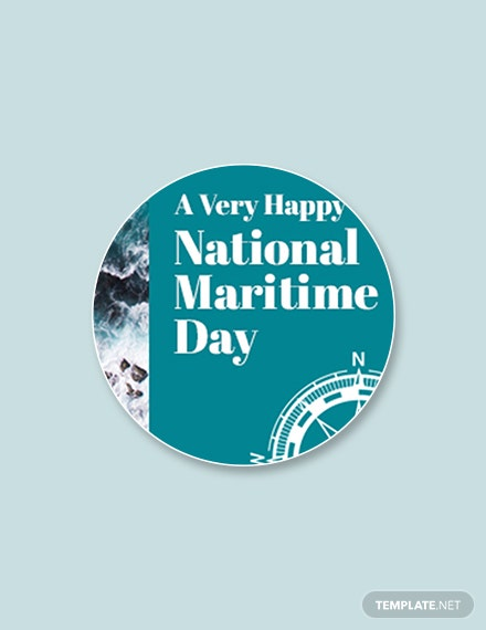 Free National Maritime Day Google Plus Header Photo