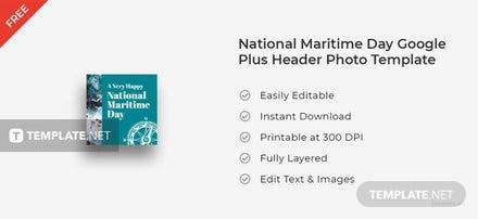 National Maritime Day Google Plus Header Photo