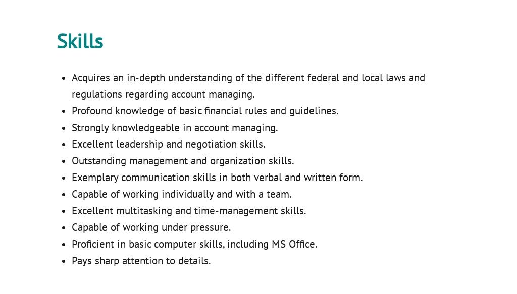 Free Enterprise Account Manager Job Ad/Description Template 4.jpe