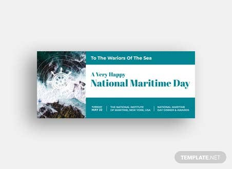 National Maritime Day LinkedIn Profile Banner