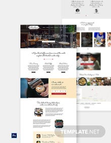 Cafe & Restaurant Website Template