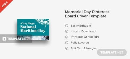 National Maritime Day Pinterest Board Cover