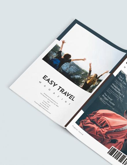 Sample Travel Agency Magazine