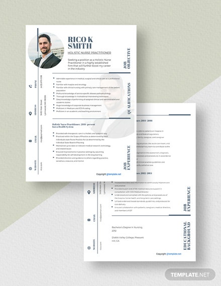 Holistic Nurse Practitioner Resume Download