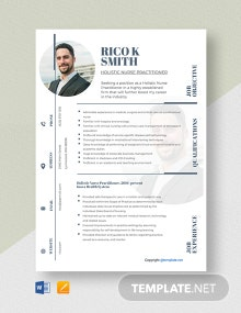 Free Holistic Nurse Practitioner Resume Template