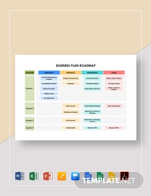 Business Plan Roadmap Template