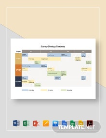 Startup Strategy Roadmap Template