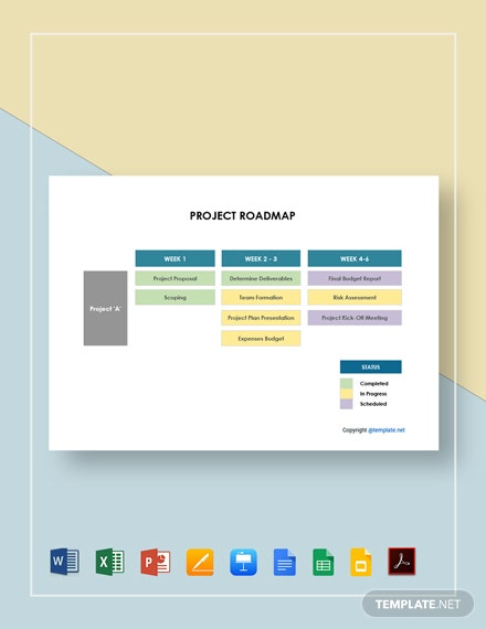 Sample Project Roadmap Template