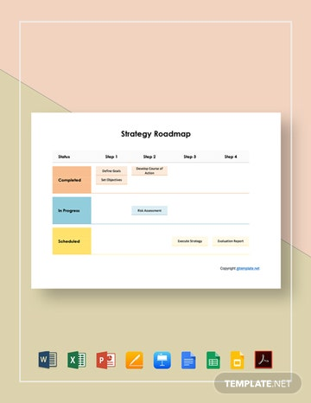 Strategy Roadmap Template
