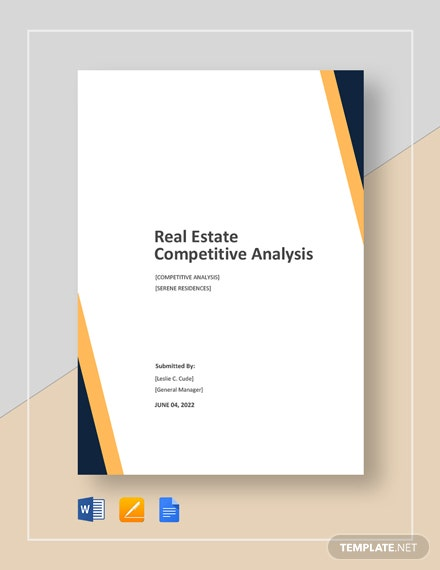 Real Estate Competitive Analysis