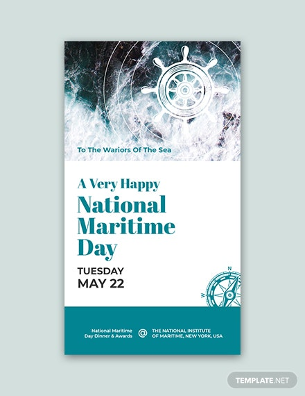 free national maritime day snapchat geofilter template download 536