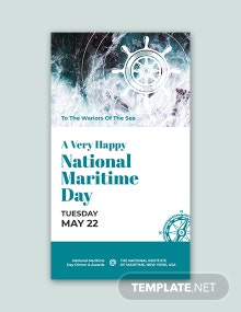 Free National Maritime Day Snapchat Geofilter