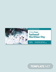 Free National Maritime Day Tumblr Banner