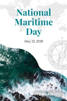 Free National Maritime Day Tumblr Post