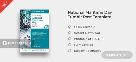 National Maritime Day Tumblr Post