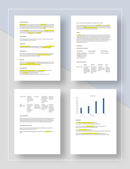 Market Analysis Format Download