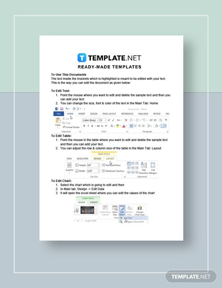 Interior Design Competitive Analysis Instruction