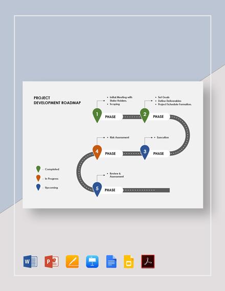 Project Development Roadmap Template