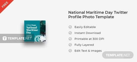 National Maritime Day Twitter Profile Photo